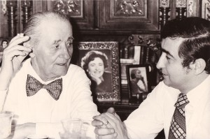 George Potra si fiul său, George G. Potra